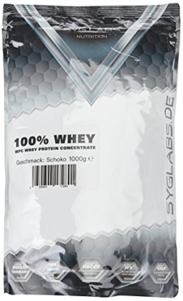 Syglabs Nutrition 100% Whey Protein Concentrate Packung