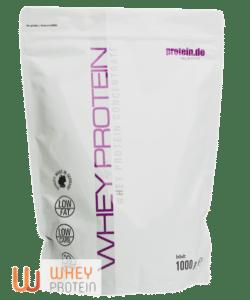 Whey Protein von Protein.de