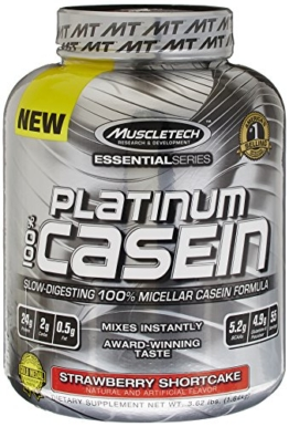 100 % Platinum Casein Test 1