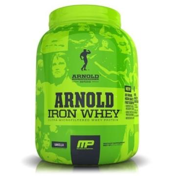 Arnold Schwarzenegger Series /Musclepharm Iron Whey Test 1