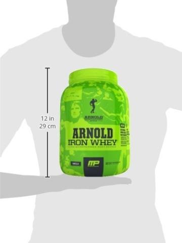 Arnold Schwarzenegger Series /Musclepharm Iron Whey Test 2
