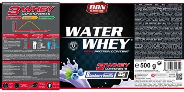 BBN Hardcore Water Whey Protein Test 2