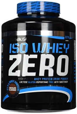 Biotech USA Iso Whey Zero Test 1