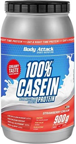 Body Attack 100% Casein Protein Test 1