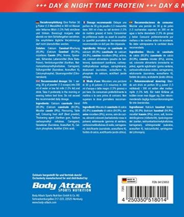 Body Attack 100% Casein Protein Test 3