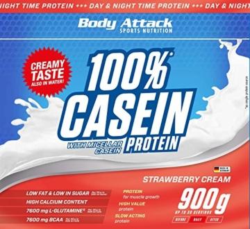 Body Attack 100% Casein Protein Test 4