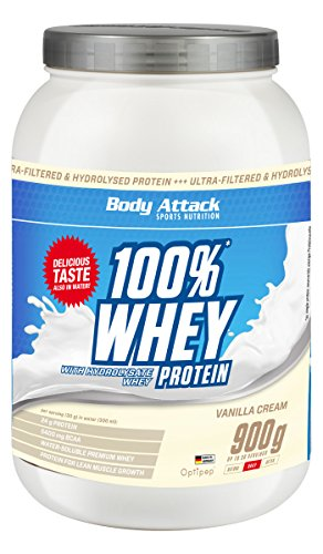 Body Attack 100% Whey Protein Test 1