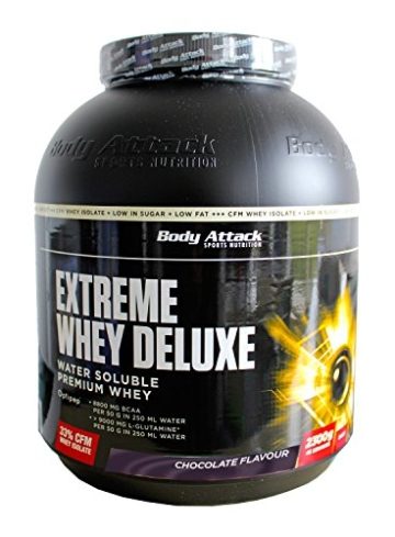 Body Attack Extreme Whey Deluxe Test 1