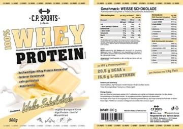 C.P. Sports Whey Protein Test 3