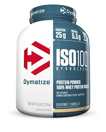 Dymatize ISO 100 Whey Protein Test 1