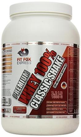 Fit Fox Express Premium Whey Test 1