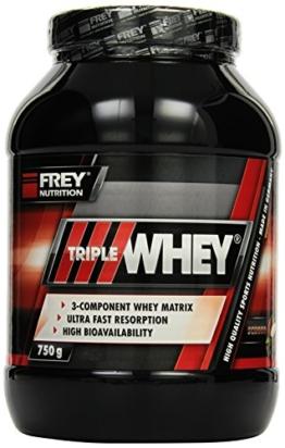 Frey Nutrition Triple Whey Test 1