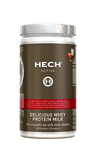 HECH® Active Delicious Whey Protein Test 1