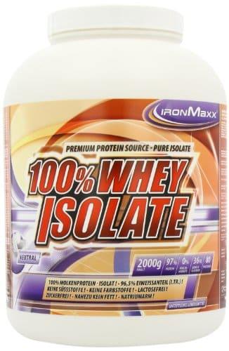Ironmaxx 100 % Whey Isolate Test 1