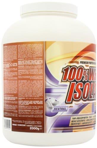 Ironmaxx 100 % Whey Isolate Test 3