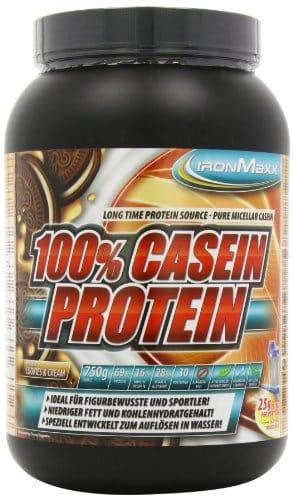 Ironmaxx 100% Casein-Protein Test 1