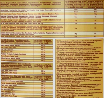 Ironmaxx 100% Casein-Protein Test 9