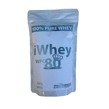 iWhey Whey Protein WPC 80 Test 1