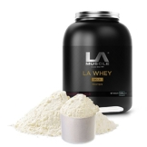 LA Muscle LA Whey Gold Test 1