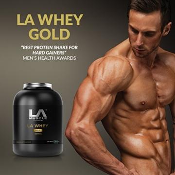 LA Muscle LA Whey Gold Test 4