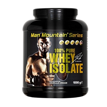 Man Mountain Series Pure Whey Isolate Test 1