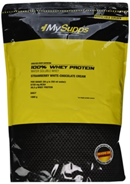 My Supps 100% Whey Protein Test 1