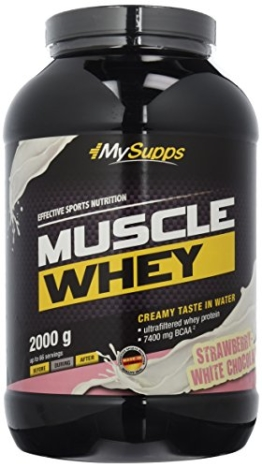 My Supps Muscle Whey Test 1