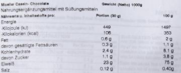 Myprotein Micellar Casein Test 5