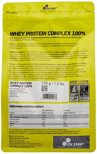 Olimp Whey Protein Complex Test 3