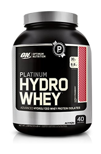 Optimum Nutrition Platinum Hydro Whey Protein Test 1