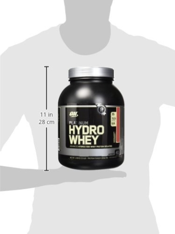 Optimum Nutrition Platinum Hydro Whey Protein Test 2