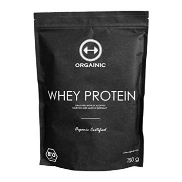 ORGAINIC Bio Chocolate Whey Protein Test 1