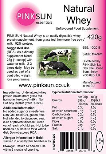 Pink Sun Whey Protein Isolat Pulver Test 2