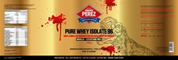 Pure Whey Protein Isolate 96 Test 5
