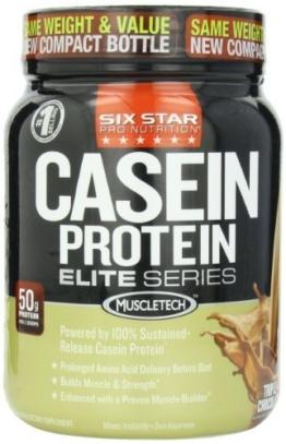 Six Star Pro Nutrition Elite Series Casein Test 1