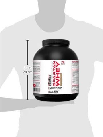 Spartan Biotics Premium Schokoladen-Erdnussbutter Whey Test 3
