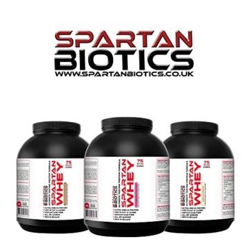 Spartan Biotics Premium Schokoladen-Erdnussbutter Whey Test 5