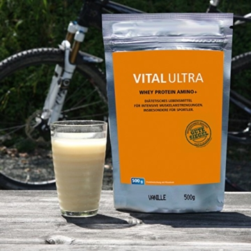 Vital Ultra Whey Protein Amino+ Test 2