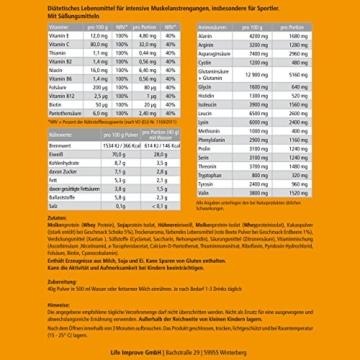 Vital Ultra Whey Protein Amino+ Test 3