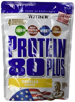 Weider 80 Plus Protein Test 1