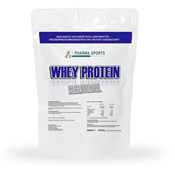 Whey Protein CFM Neutral Test 1