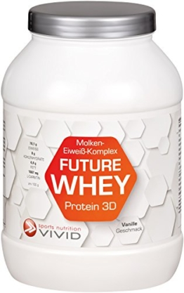 WHEY Pulver - FUTURE WHEY 3D Test 1